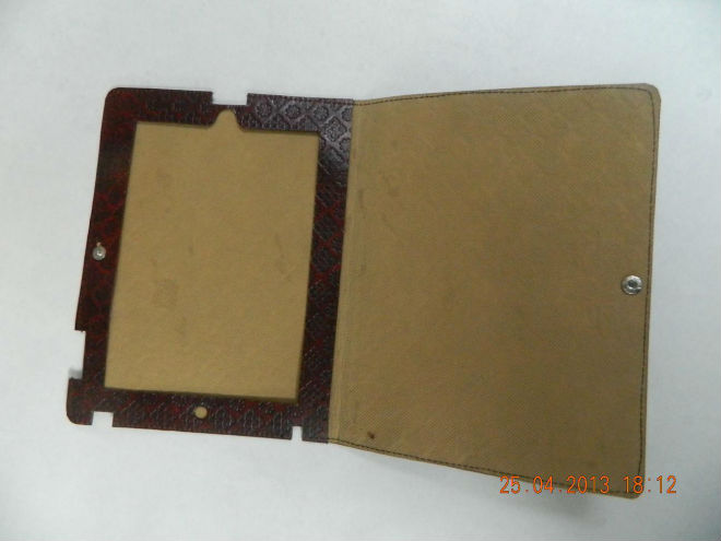 Handmade Leather Embossed Tablet Covers
