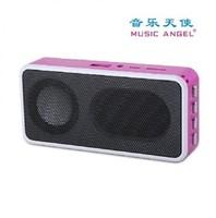 Music angel MD09 mini speaker support TF/U disk FM multimedia speaker
