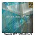 Organza de seda de tela de la india/de organza purpurina rollo de tela/llanura tela de organza/
