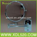 Espejo de la tabla/redondo de metal espejo cosmético/mercedes espejo lateral