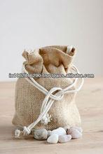 JUTE Mini drawstring pouch BAGS