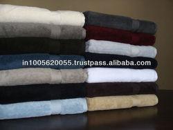 100% Cotton Luxury Bath Towels A Grade Organized Stock