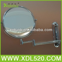 visor mirror/chrome cosmetic mirror/cosmetics accessories mirror