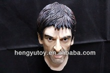 High Quality Totally Awesome Realistic Latex Tony Montana Mask From Super Star Costume Al Pacino