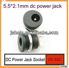Pedal effect dc power jack 2.1m+2,1mm DC Male power plug
