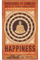 buddha face canvas