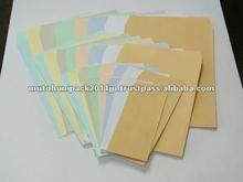 Silver color A4 paper 70gsm envelope / Japan manufacturer / wholesaler