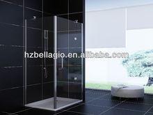 2014 economic hot sale shower room,shower cabin bathroom tempered glass shelves