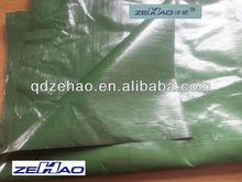 180gsm green color pe tarpaulin&disposable car cover
