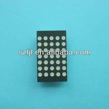 LED 5x7 Dot Matrix/ Led dot display 5*7 Dot size10mm Ce&rohs Approval