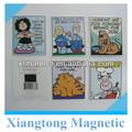 Divertidos personajes de dibujos animados de los niños como el mejor!!! Imán papel de nevera