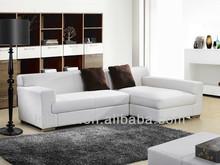 LKS-17 nicoletti furniture corner leather sofa
