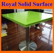 green acrylic stone solid surface table/tabletop hot in Mid east market