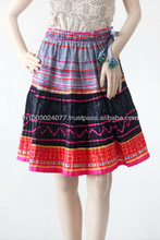 Colorful Hill Tribe Short Skirt