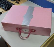 pretty gift packaging box square shape