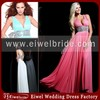 1546 Free shipping V-neck Sleeveless Long Length Evening Dress France