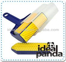 2 PCS Set Reusable Sticky Buddy, Picker Cleaner Lint Roller Pet Hair Remover Brush