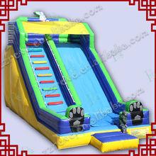 wide slide way 18ft inflatable samll rabbit slide