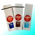Folha de alumínio amarrá-lata saco de café com impressão do logotipo
