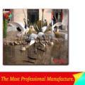 de fibra de vidrio artificial a partir de las aves de fabricante profesional