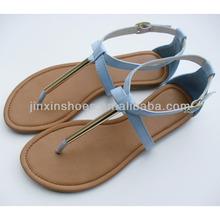 2013 new design girls flat fashion sandal