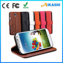 Hot selling wallet card-slot pu leather cell mobile phone case for smart phone