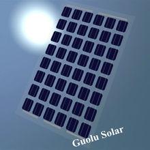 Low MOQ High Effieciency BIPV Sun Power 60w Mono Solar Panel