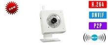 2013new ip camera Dual stream encoding / H.264 compression mode