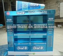 Oral-B Toothpaste Cardboard Display Stand, Pop Up Display