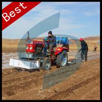 multi-functional peanut fertilizer seeder and mulch applicator