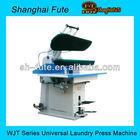 Shirt laundry press machine