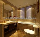 Bensonite solid surface bathroom design