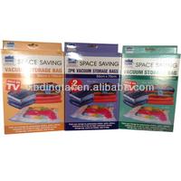 space saving 2PK vacuum storage bag as seen on TV/vacuum airtight storage bags/vacumm compression bag