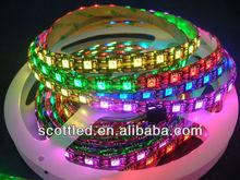 WS2812 5050 RGB LED digital flexible led strip