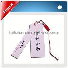 Fashion brand provide professional garment hang tag string