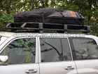 car roof rack luggage bag