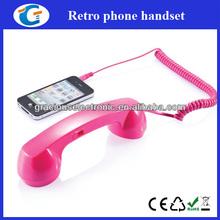 Retro 3.5mm phone handset