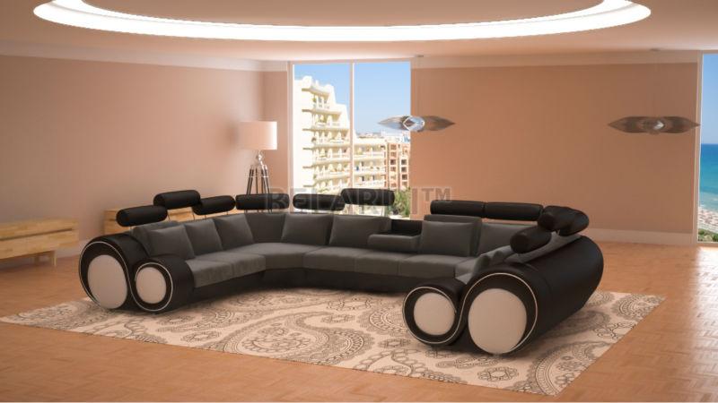 designer sofa manresa belardi buy leder sofa product on. Black Bedroom Furniture Sets. Home Design Ideas