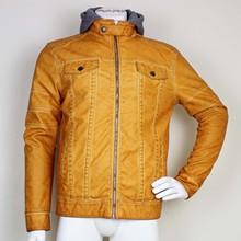 Fashion Leather Field Jacket