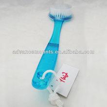 Bath Brush Back Scrub Scrubber Massager Shower Body Back 13.5 Handle Spa Pet New