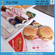 best sold hamburger paper
