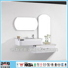 Single Basin Bathroom Vanity Slim Under Basin Cabinet