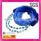 Wholesale scarf guangzhou cheap ployester scarf jewelry
