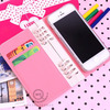 For iphone 5 credit card holder case,pu leather cover for apple iphone 5s