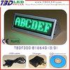 B1664 green triangle mini led display/triangle mini led display board led display