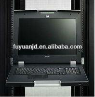 17 inch LCD KVM 2 port manual kvm switch