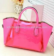 Fashion PVC Clear Transparent Shoulder Handbag Hand Tote Bag Handbags For Ladies Women Baby Bag in Bag