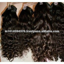 100% pure virgin indian hair/remy hair/natural curly