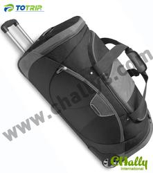Classic top grade 1680D Nylon wheels Travelling Duffel bags