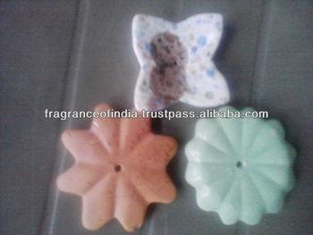 Ceramic Incense Stick Holder and Supplies